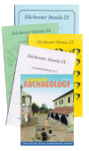 Pic of a selection of Silchester related publications