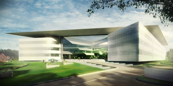 Artists impression of Malaysia campus exterior