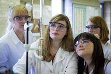 6th form course 2010 - In the chemical analysis laboratory