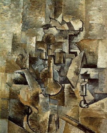 George Braque's Violin and Candlestick
