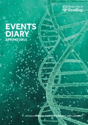 Events diary cover spring 2015