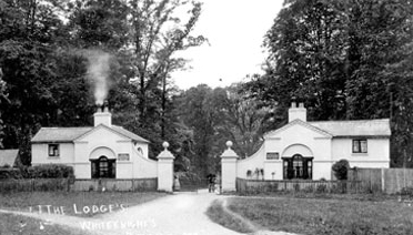Earley Gate Lodges, image courtesy of Museum of English Rural Life