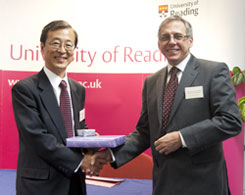 Japanese Minister visits School of Construction Management and Engineering