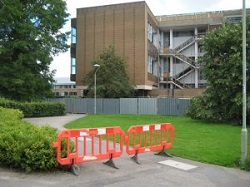 Library: diversion in place