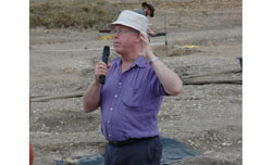 Professor Mike Fulford at Silchester