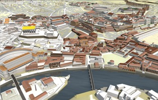 Digital model of Rome 2