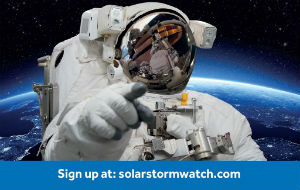 The new Solar Stormwatch project has launched