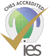 CHES accreditation logo