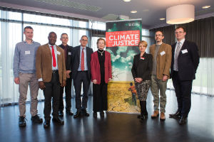 The Centre for Climate and Justice launch at the University of Reading