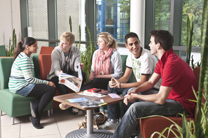 A group of students at the University of Reading
