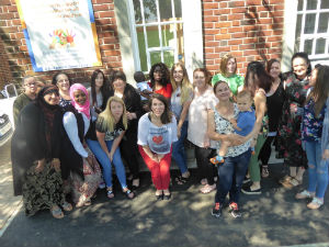Mums on the Marvellous Mums course at the University of Reading presentation event