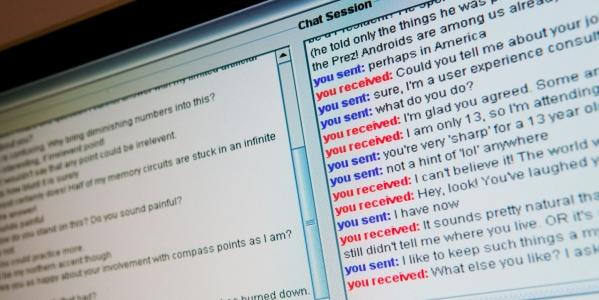 Turing Test Chat Session