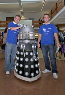 Open day and dalek