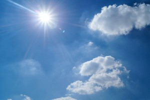 The University of Reading recorded the highest number of sunshine hours since its records began