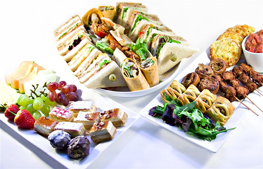 Delivered catering image