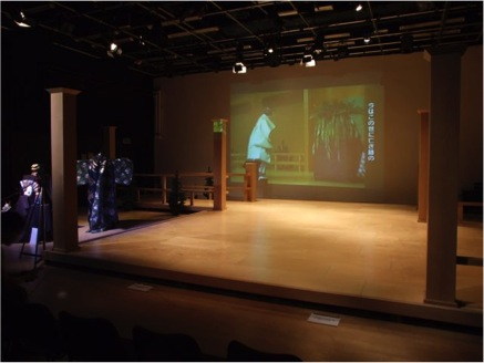 A Japanese Noh Stage is owned by the Department of Film, Theatre & Television. It is one of only two stages in Western Europe