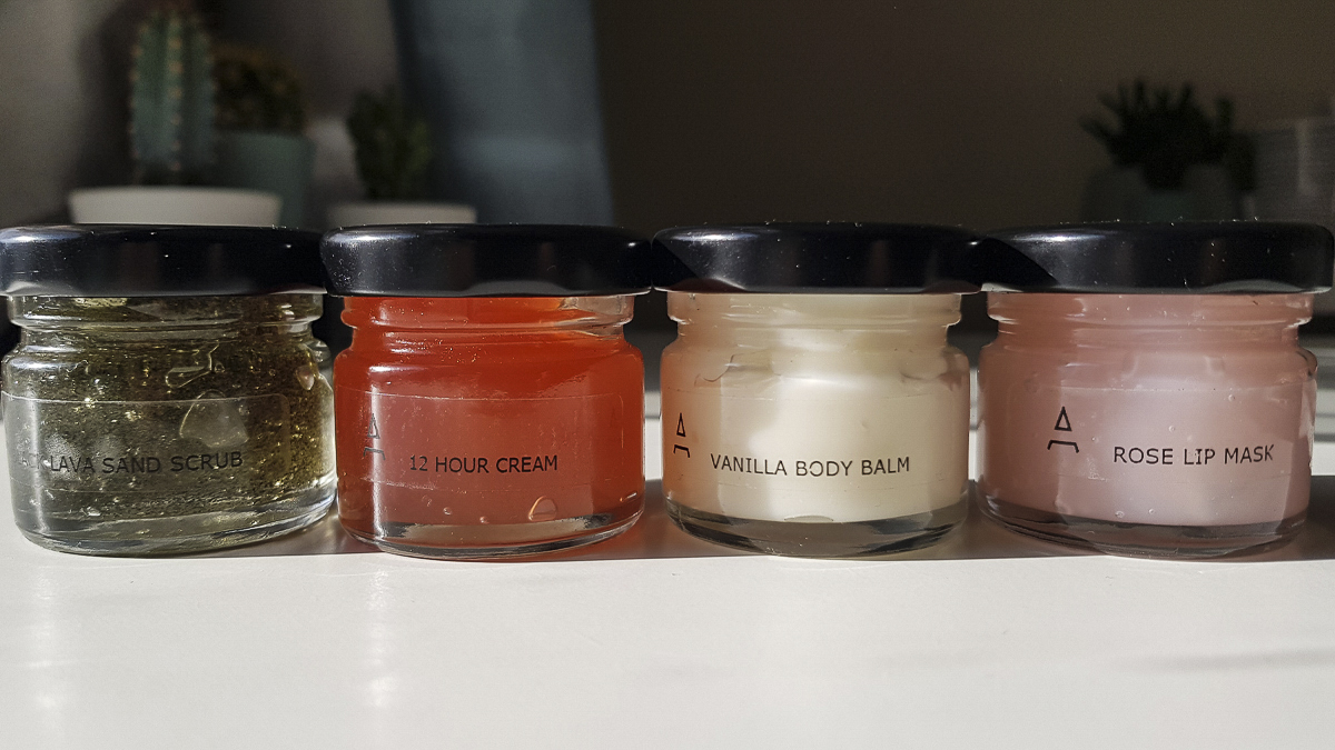 Aisha Nuhu's body butter product