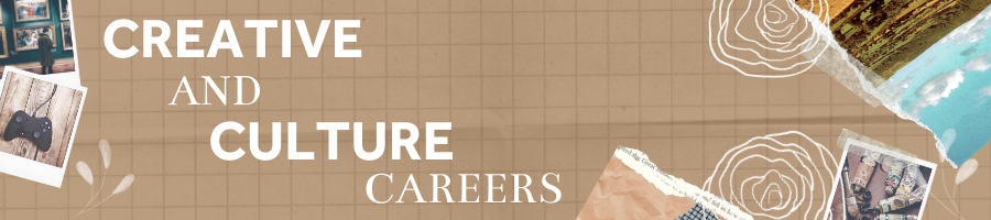 Creative and culture careers banner