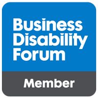 Business Disability Forum membership logo