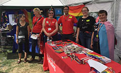 UoR stall at Reading Pride 2018